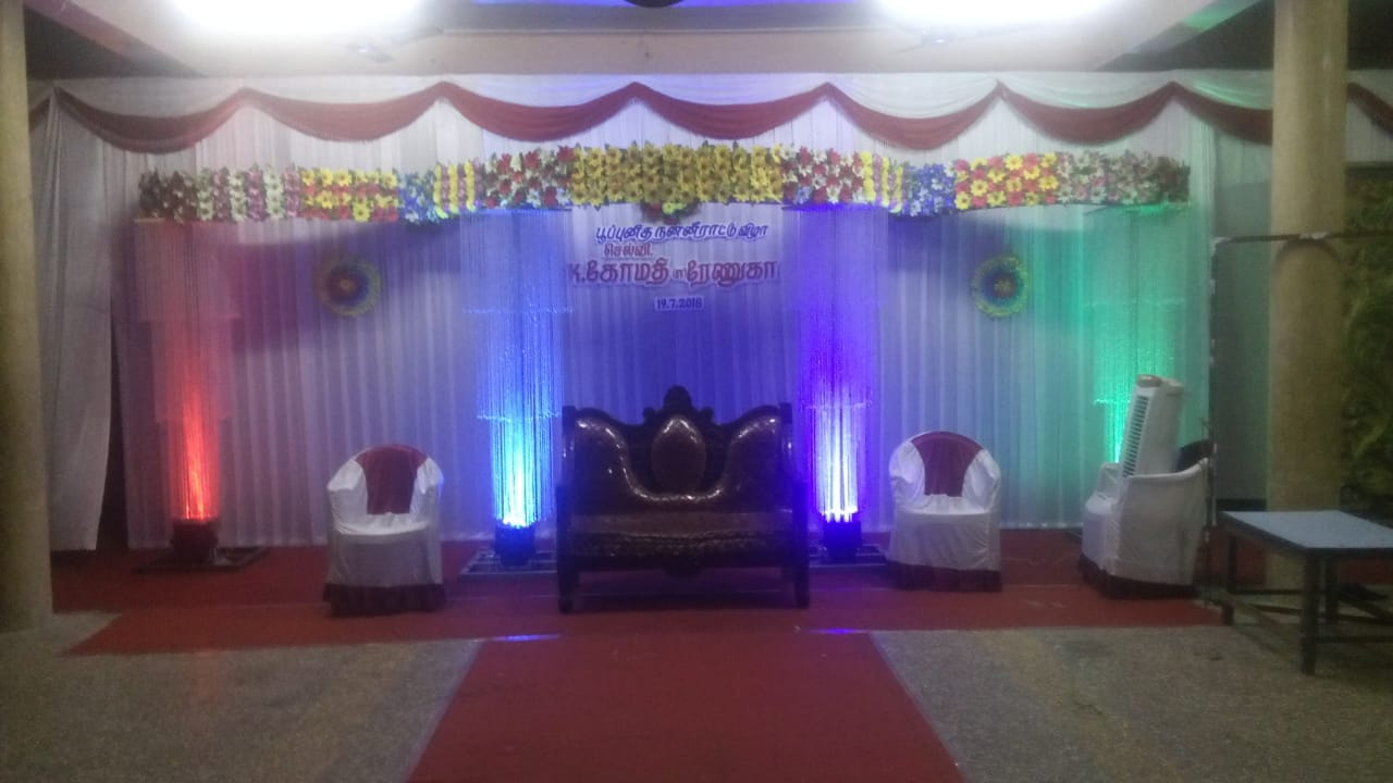7373373399-Thaara Decorations : Wedding Hall decorations in ...